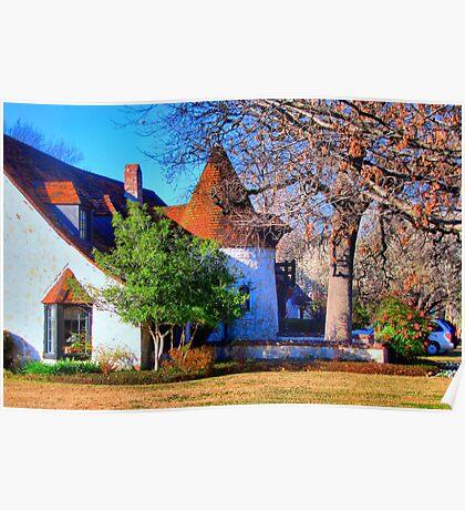 Beautiful Home in Sherman, Texas, USA Poster