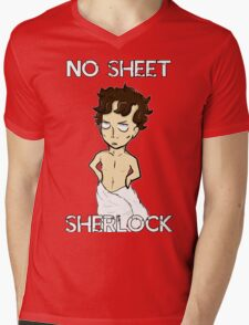 No sheet, Sherlock! Mens V-Neck T-Shirt
