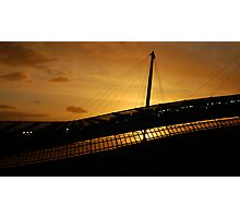 Etihad Sunset Photographic Print