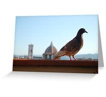 Florentine Scavenger Greeting Card