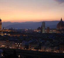 Looking over Florence by lauracronin
