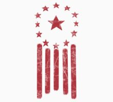 Fallout: Ulysses Old World America Flag [RED] by Styl0