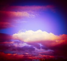 Purple Sky by Jeanne Peters