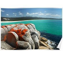 Bay of Fires  Tasmania Poster