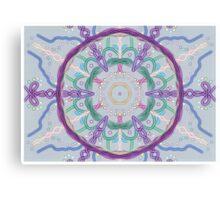 Random Psychedelic Kaleidoscope 3 Canvas Print
