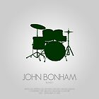 JOHN BONHAM - &#x27;Bonzo&#x27; by Mark Hyland