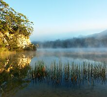 Blue Lake Tasmania by MisticEye