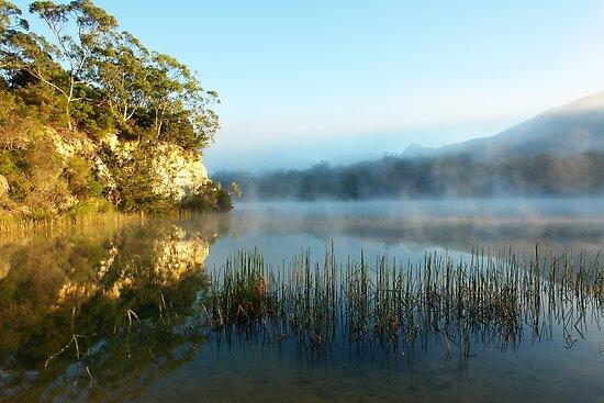 Blue Lake Tasmania by MisticEye