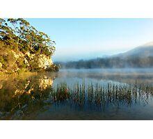Blue Lake Tasmania Photographic Print