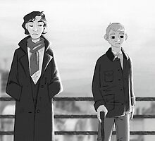 Sherlock + Paperman, Part 1 by Marie Mikolay