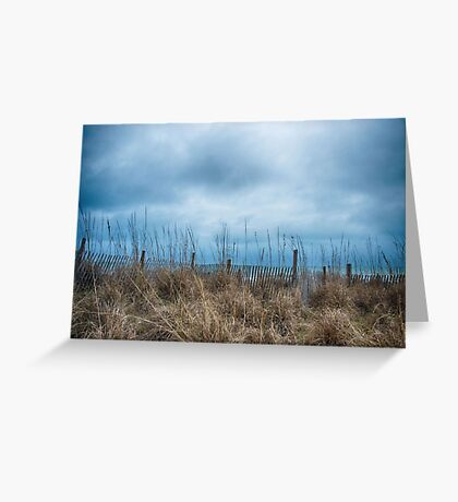 Grey Skies are Gonna' Clear Up Greeting Card