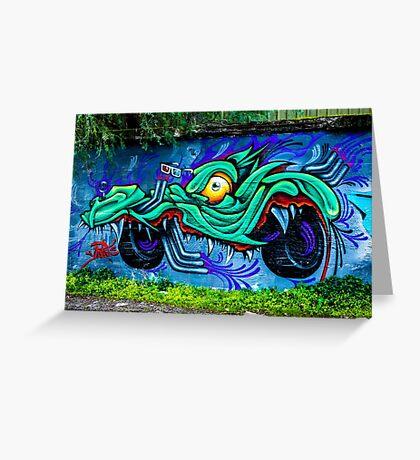 Street Art - Graffiti 2015 Greeting Card