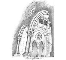Mosteiro de Alcobaça. Photographic Print