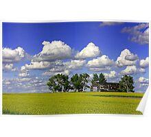 Prairie Warmth Poster