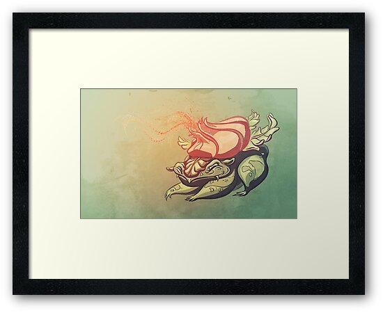 Pokemon - Ivysaur by powercami5000