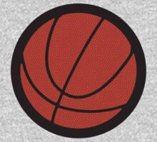 BasketBall Logo – Black Texture by cpotter