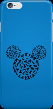 Disney Villains Black by Narutal