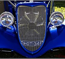 The face of a 1934 Ford by Wolf Sverak