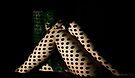 Shadow play - Poker dots by Gavin Poh