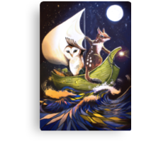 The Owl & the Quoll Canvas Print