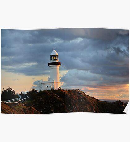 Byron Lighthouse Poster