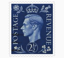 British King George VI Postage Stamp by TravelShop
