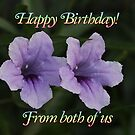Happy Birthday From Both of Us by DesignsbyApril