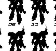 Tramsformer Routes & Robots 01 - 57 Sticker