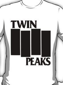 Twin Peaks / Black Flag T-Shirt