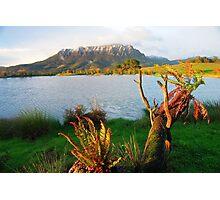 Mt Roland from Eagles Nest Retreat  Tasmania Photographic Print