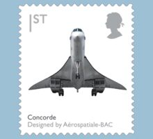 British Concorde Postage Stamp by TravelShop