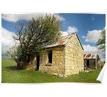 Stone House  Baydon  Tasmania Poster