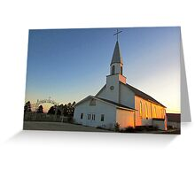 Zion Lutheran Church Greeting Card