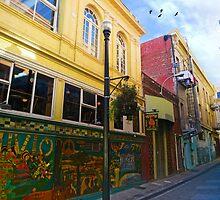 Jack Kerouac Alley by David Denny