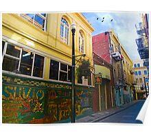Jack Kerouac Alley Poster