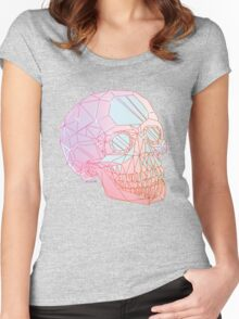 Crystal Skull Women's Fitted Scoop T-Shirt