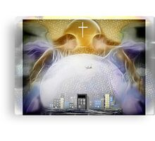 God Angels Is All Ways Watching  Canvas Print
