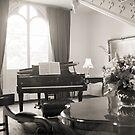 Grand Piano—Government House Tasmania by Brett Rogers