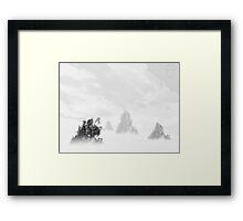 ©HCS Fog Zone I Framed Print