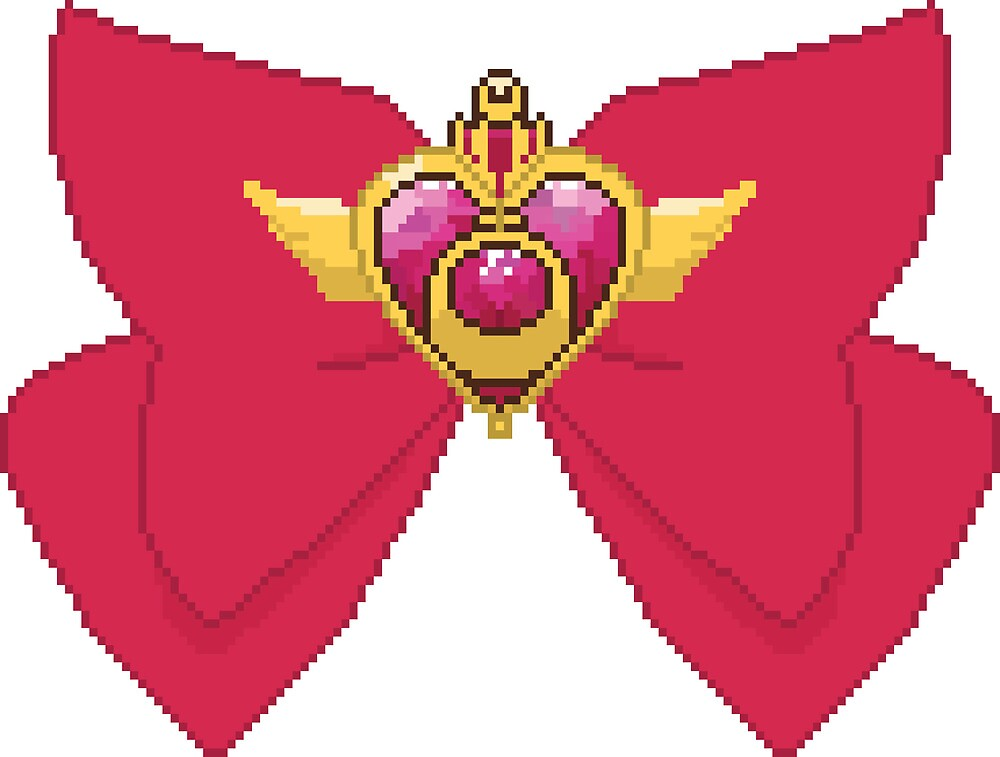 8Bit Heart Crisis Compact  by ZoeTwoDots