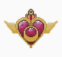 8Bit Heart Crisis Compact - No Bow by ZoeTwoDots