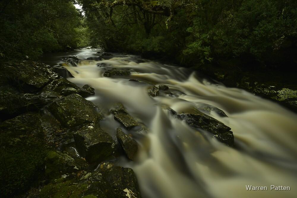 Pencil Creek Tasmania. by Warren  Patten