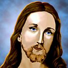 Jesus Christ by saleire