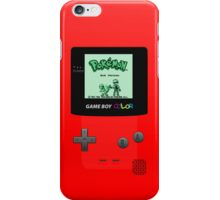 Pokemon Red iPhone Case/Skin
