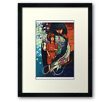 KAMIKAKUSHI Framed Print