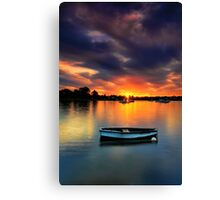 Floating Sunset # 2 Canvas Print