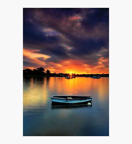 Floating Sunset # 2 Photographic Print
