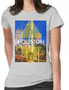 Houston Rockets Print Tee Womens Fitted T-Shirt