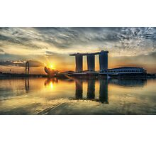 Saturday Sunrise - Marina Bay Sands Photographic Print