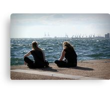taking some time Canvas Print